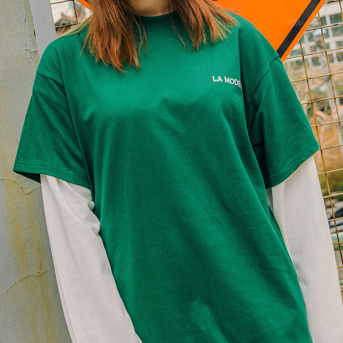 LamodeChiefLAMC LUMINOUS SHORT SLEEVE (GREEN)