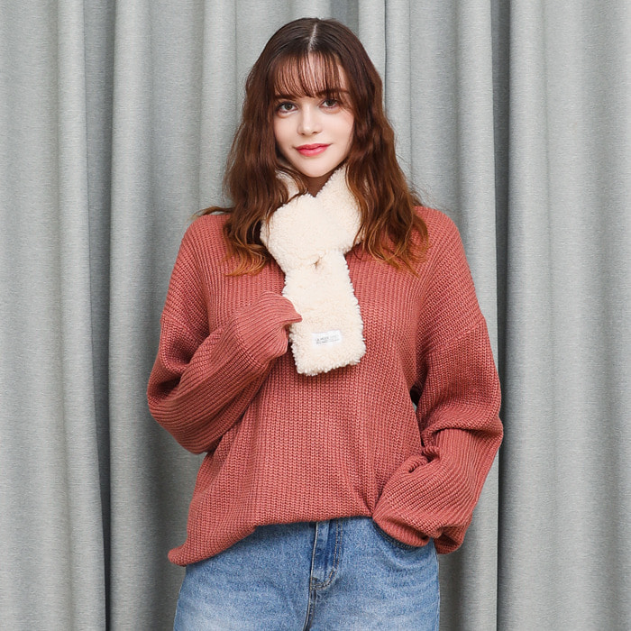 LamodeChiefNELL OVERFIT KNIT (PINK)
