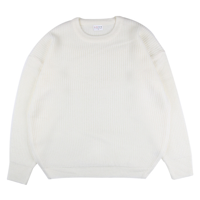 LamodeChiefNELL OVERFIT KNIT (IVORY)