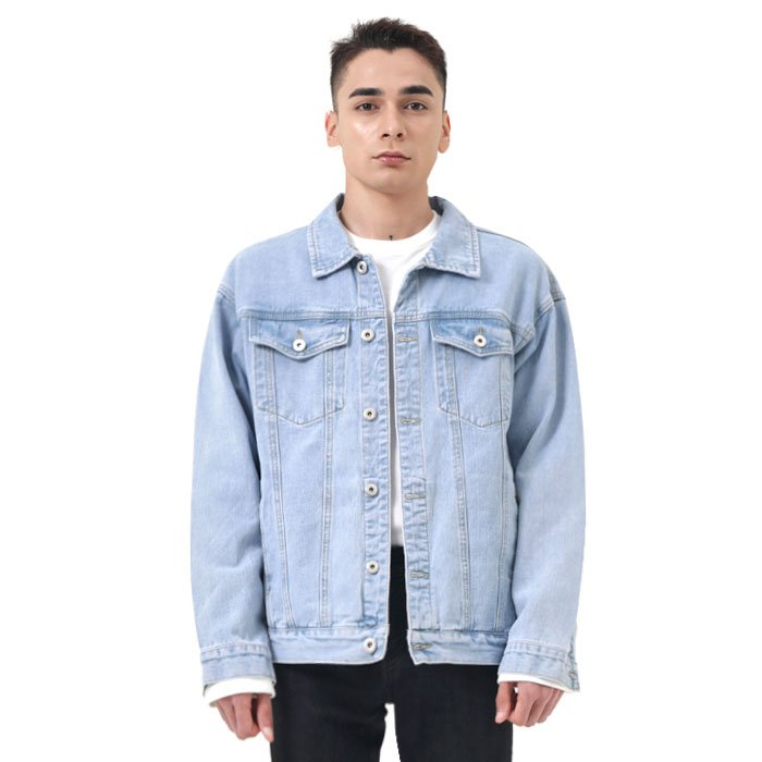 LamodeChiefRegular denim jacket (Lightblue)